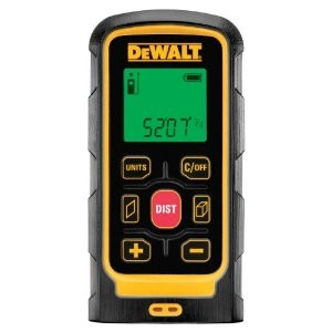 Laser tape measures are great for long distance shots. Use a handheld tape measure for anything more exacting, like window or door locations.